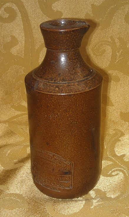 J Bourne Son Denby Pottery Pj Arnold Ink Bottle